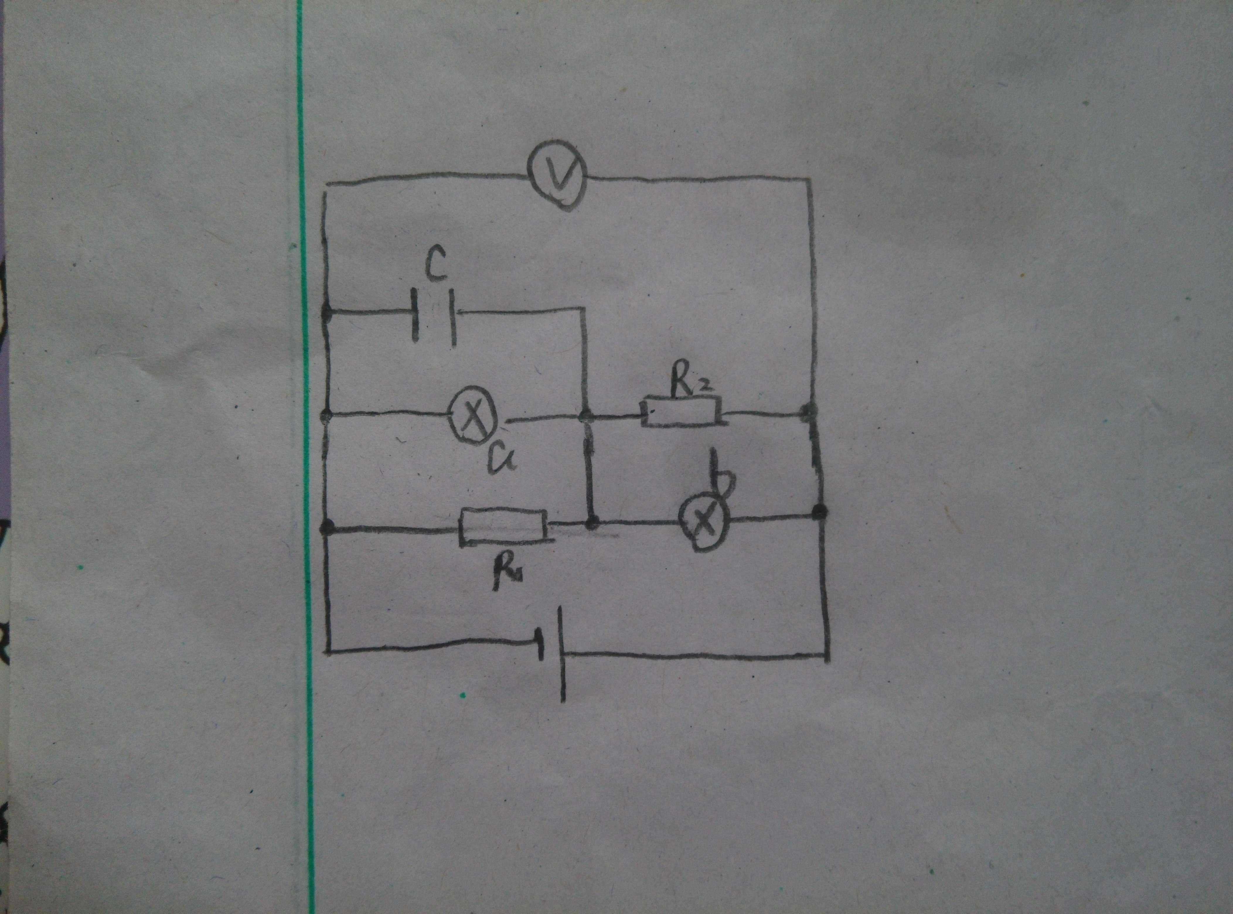 灯泡a和灯泡b是串联还是并联?为什么?