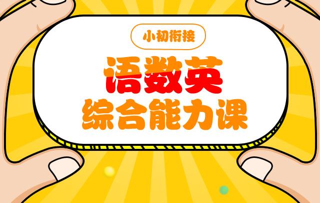 【小初衔接】语数英综合能力课